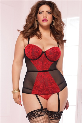 27369c5fca2 Valentine s Day  Bring on the Sexy! Plus Size Lingerie